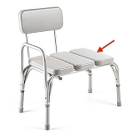 Invacare Padded Vinyl Transfer Bench - Replacement Pad